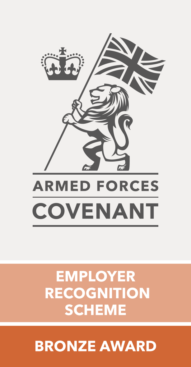 Armed Forces Covenant Employer Recognition Scheme - Bronze Award